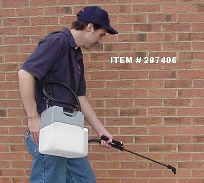 Hose Spray Nozzle >> 1.3 GALLON BATTERY POWERED SPRAYER