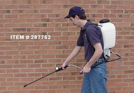 usage of backpack sprayer