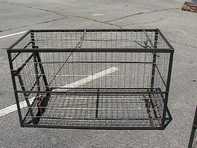 26 IN. Wide x 30 IN. Tall x 51 IN. Long PIG TRAP JUNIOR