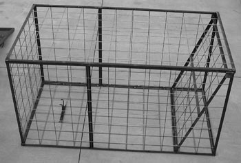 4Ft x 4Ft x 7Ft 6inch HOG TRAP