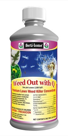 WEED OUT WEED KILLER